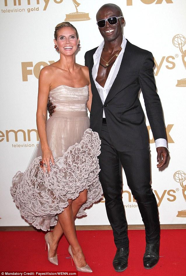 As they were: Heidi Klum and Seal, seen in 2011, announced their split a year ago