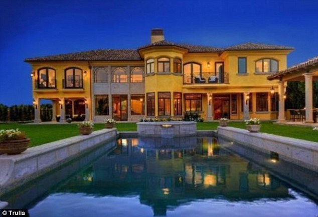 Italian villa: Kim Kardashian and Kanye West have spent $11 million on this stunning villa in Bel Air as they prepare for their first child