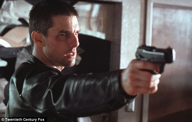 The software predicts future criminals like the 'PreCogs' in the Tom Cruise film who can see crimes not yet committed
