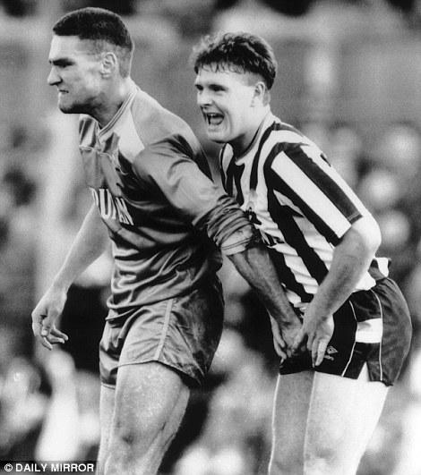 Steven Gerrard Quotes Wallpaper Vincent Kompany Tackle Sportsmail Remembers Moore