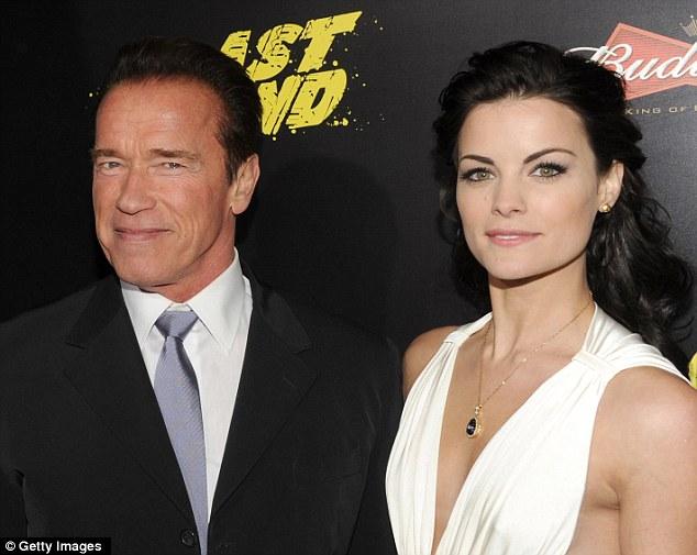 Arnold Schwarzenegger Fawns Over Peter Facinelli39s