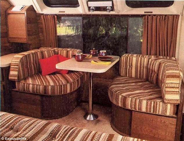 Sofa Upholstery Parts Carry On Caravanning! 1970s Advert For Motorhomes Shows