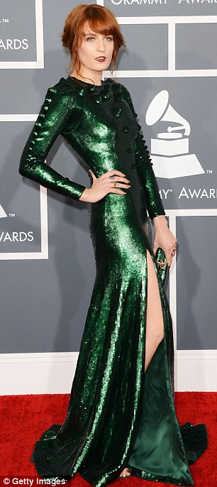 French Style Home Grammys 2013 Worst Dressed Photos: Florence Welch's