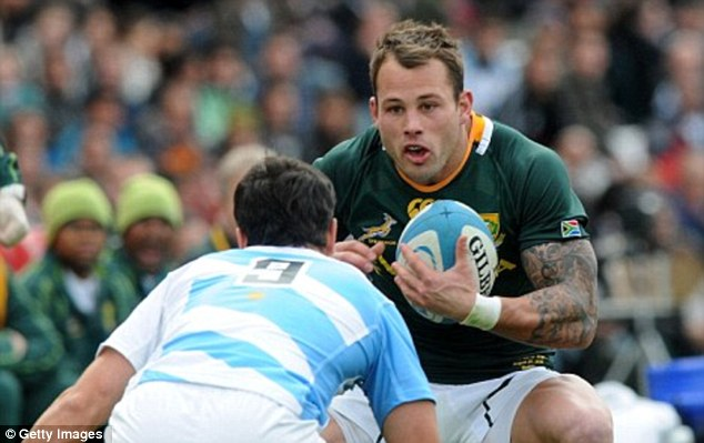 Rugby star Francois Hougaard's agent said 'sad ordeal' was nothing to do with him in response to rumours that had circulated about the Springbok's friendship with Miss Steenkamp