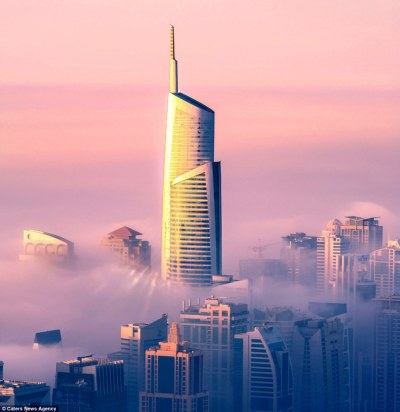 Amazing cloud scape of dubai | Daily Mail Online