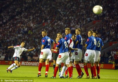 England v Serbia and Montenegro flashback to 2003 as John Terry made debut   Daily Mail Online