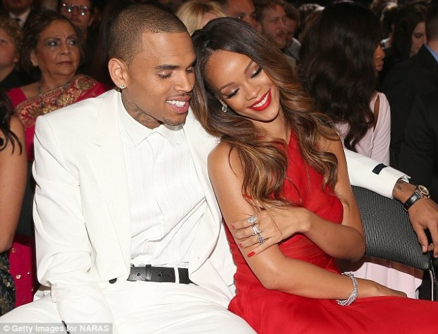 'She forgave me': Chris Brown has opened up about how he won back girlfriend Rihanna after he brutally beat her in a vicious 2009 attack