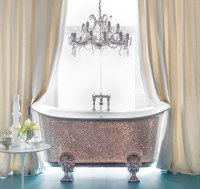 More money than sense? 150,000 bathtub studded with ...
