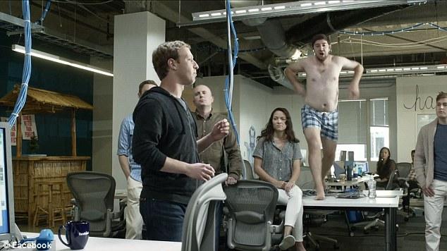 Trump For President Iphone Wallpaper Mark Zuckerberg Stars In Own Cringe Worthy Facebook Home
