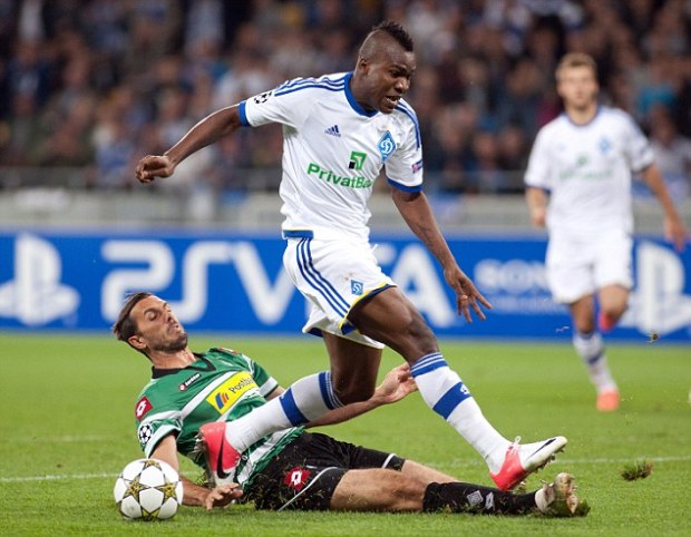 Wanted: Brown Ideye is attracting interest from the Premier League