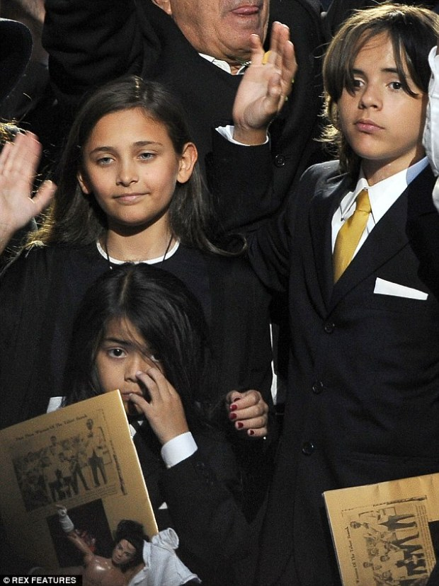 Severed ties: Lester claims he last saw the three children at Jackson's memorial service in 2009 following his untimely death at age 50