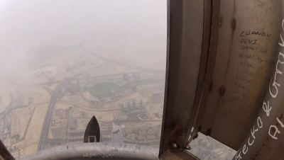 Sandstorm at the Burj Khalifa: Watch the breathtaking ...