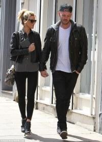 Sarah Harding and boyfriend Mark Foster take daytime ...