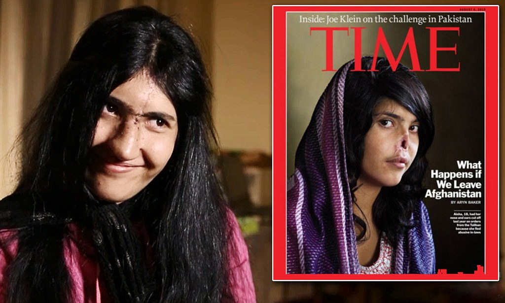 Afghan Girl Eyes Wallpaper Aesha Mohammadzai Fearless Time Cover Girl Aesha Now Just