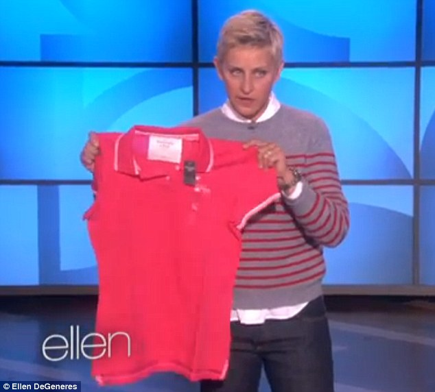 Since when was a ten plus-size?\u0027 Ellen DeGeneres hits back at