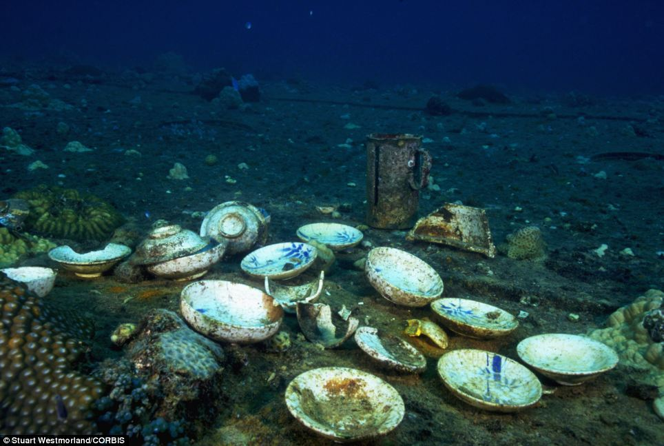 World\u0027s biggest ship graveyard Tropical waters of South Pacific