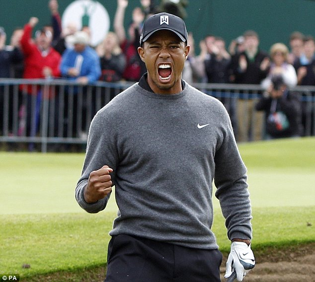 tiger woods tee time us open friday