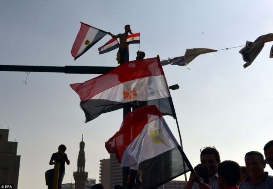 Despite the celebrations and even with an interim leader now in place, Egypt remains on an uncertain course following Mr Morsi's ousting, and the possibility of further confrontation still looms