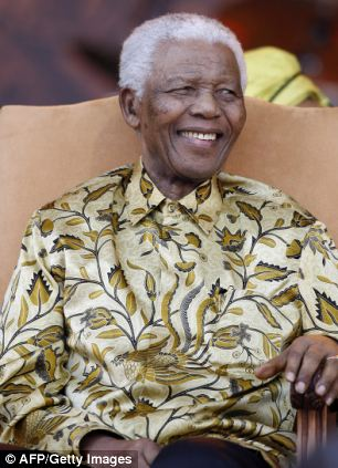 Court documents from June 26 said Mandela 'is in a permanent vegetative state and is assisted in breathing by a life support machine'
