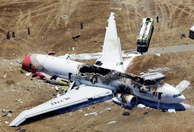 Tail snapped off: The plane that was carrying 291 passengers is missing its tail section