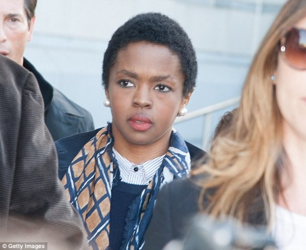Jailed: Fugees frontwoman Lauryn Hill has checked into prison in Connecticut to serve her three month sentence for tax evasion