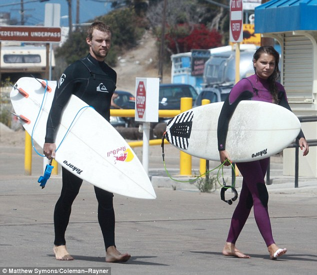 Chill Wave Car Wallpaper Chicago Fire Star Jesse Spencer And His Pro Surfer