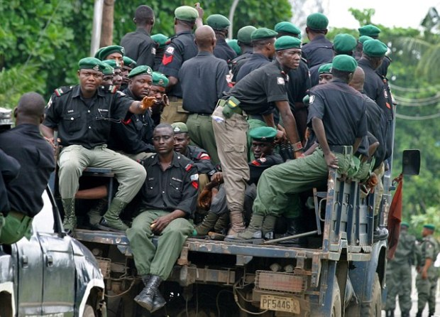 Nigerian police can be easily bribed to look the other way in a country where corruption in Nigeria is endemic