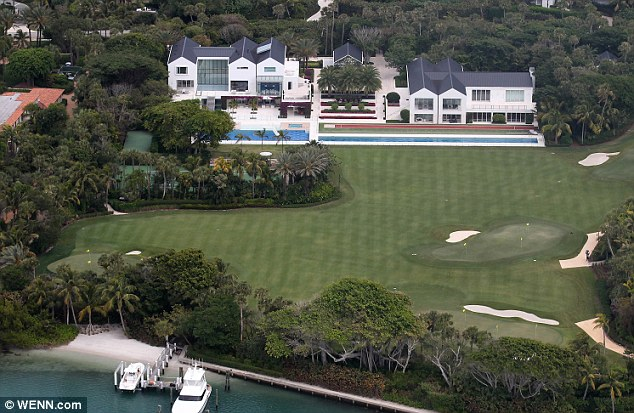 tiger woods house florida