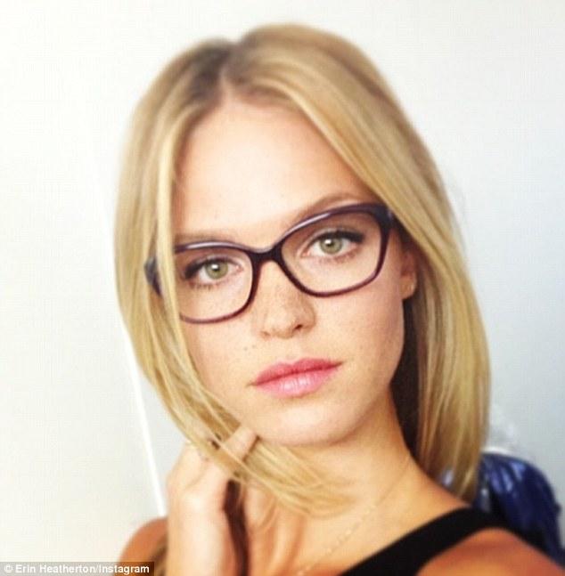 Cute Chinese Girls Wallpaper Sydney Fashion Week Erin Heatherton Rocks Geek Chic Specs