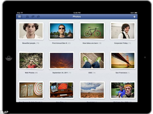 Facebook friends can now share online photo albums users can upload