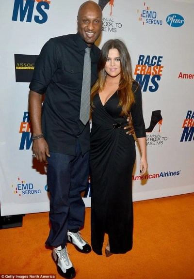Khloe Kardashian makes 'panicked call to husband Lamar Odom' after learning about reported drug ...