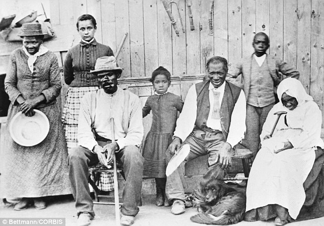 Majority Of America39s Racists Live In Areas Where Slavery