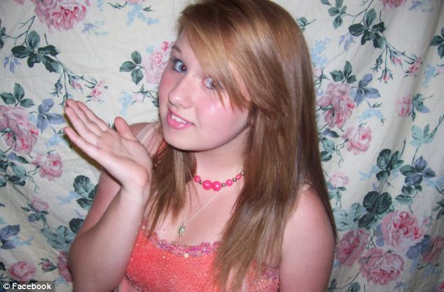 Loss: Elizabeth Nicole Evans, 16, killed herself last week after years of bullying at school, her father said