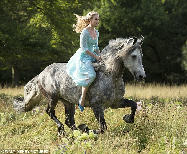 Girl Falling Through The Air Wallpaper Downton Abbey Star Lily James Rides A Horse As A Carefree