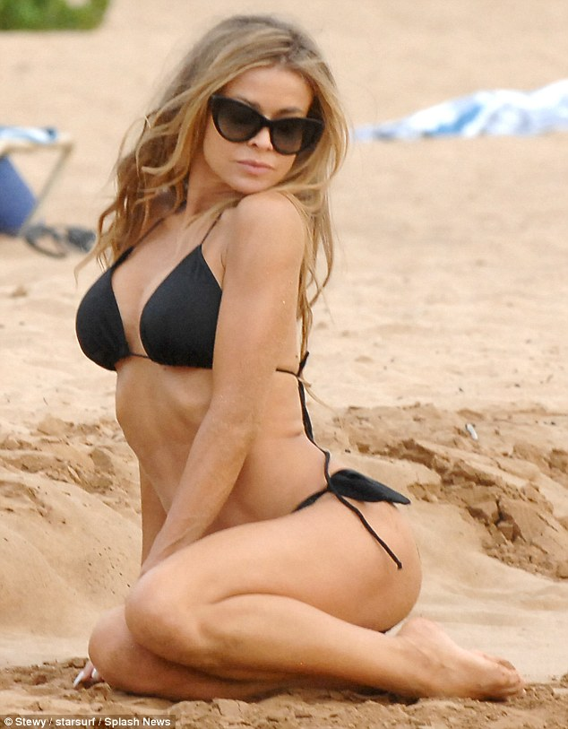 Black Car Wallpaper 1080p Carmen Electra 41 Shows She S Still Got It In An