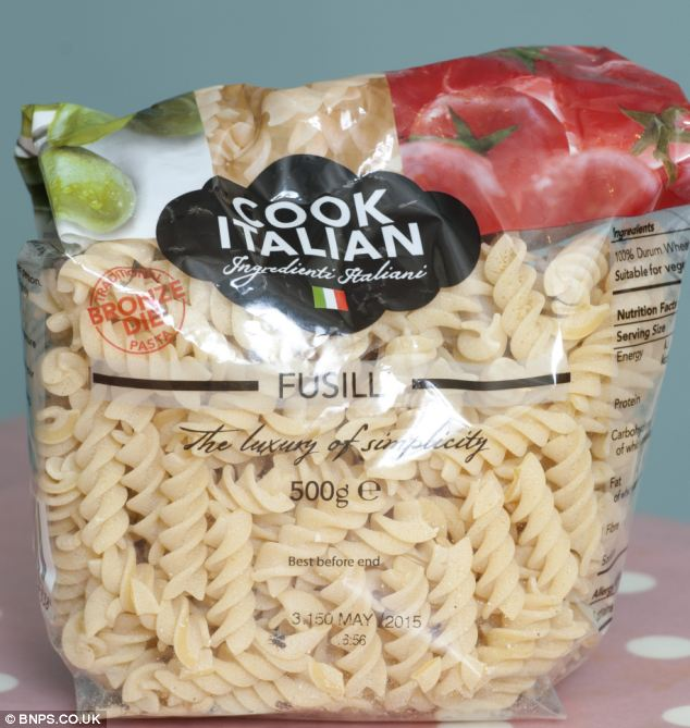 Bugs In Pasta Bag Of Unopened Pasta Bought From Tesco Found Crawling
