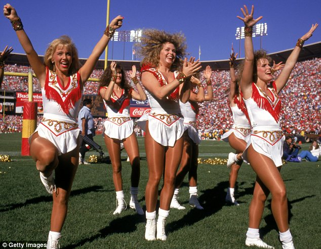 History Of Nfl Cheerleader Uniforms And Their Hairstyles