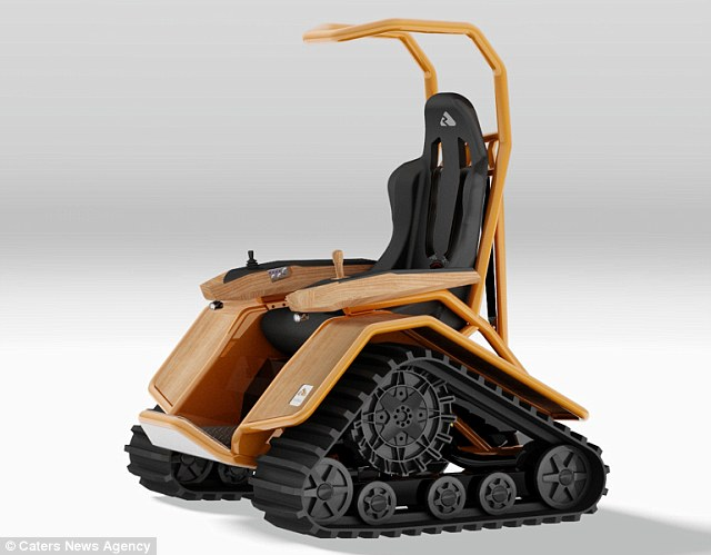 New Range Of Extreme Wheelchairs Banish Old Fashioned