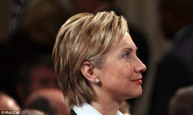 Profile for a future commemorative presidential coin? Hillary Clinton says she's 'minded' to run for the White House in 2016