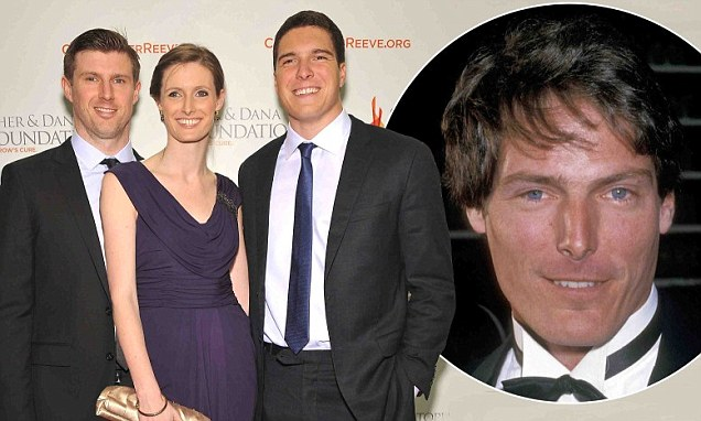 Christopher Reeve39s Orphaned Son Will And Siblings Matthew