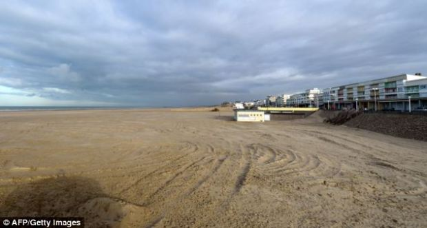 Berck sur Mer: Ms Kabou was said to have checked into a seafront hotel on November 19 before going to the sea