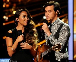 Alex and Sierra, shown performing on Wednesday night, were named The X ...