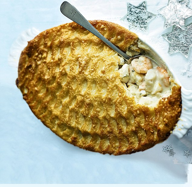 Festive fish Luxury fish pie Daily Mail Online