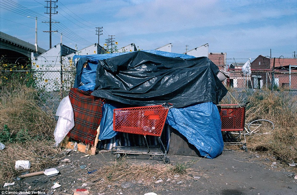 The Homeless Of La39s Skid Row Are Being Driven Out As Area