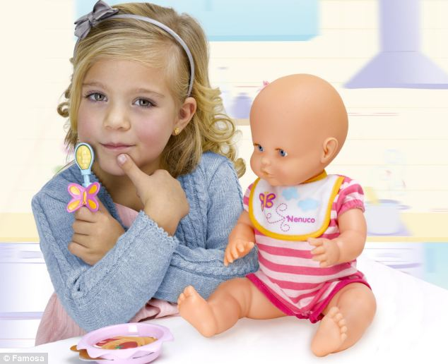 Baby Dolls Eating Food 39;anorexic 39; Nenuco Doll Should Be Banned Say Campaigners