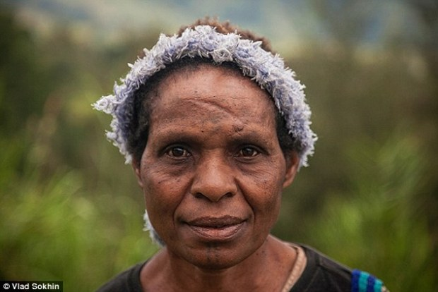 Alleged Sorcerer: Accusations of sorcery against Papua New Guinean women like Emate (above) are commonly followed by attacks with knives and branding irons, which only some of the 'witches' survive