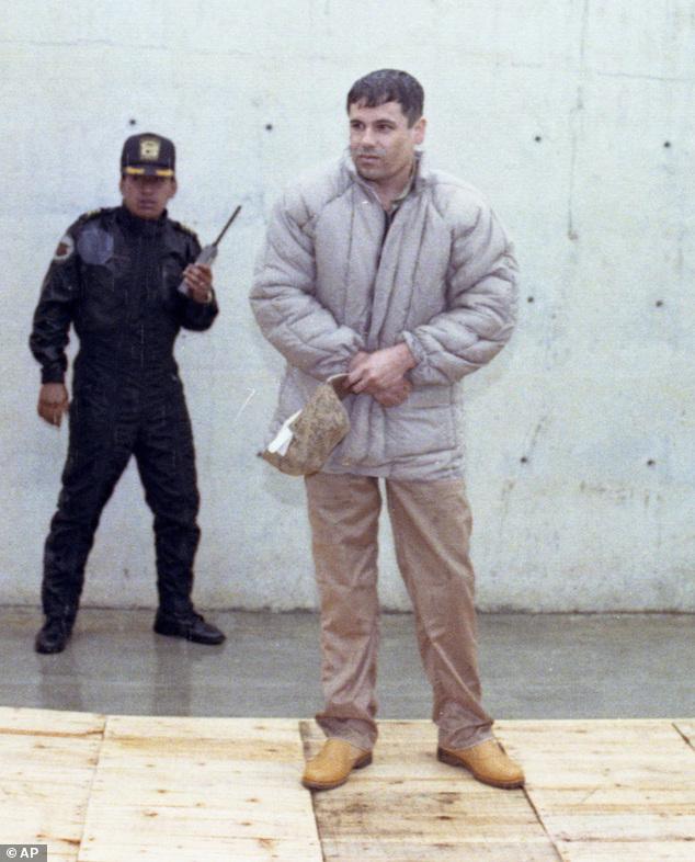 el chapo guzman press conference 1993