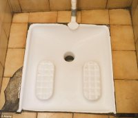 Warehouse installs European-style squat toilet | The Beer ...