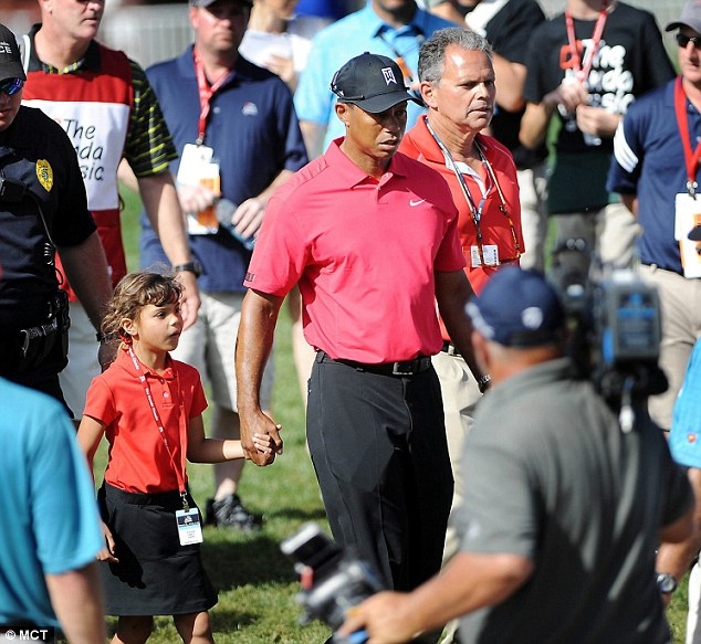 tiger woods kids today 2018