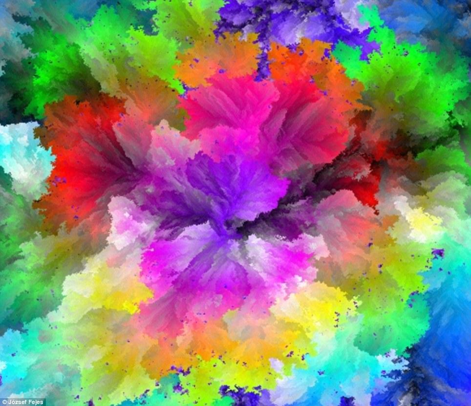Happy Diwali Wallpaper 3d 2015 Amazing Software Creates Art Using 17 Million Colours To
